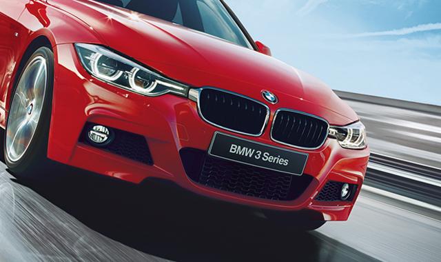 BMW  中日新聞15段カラー1月1週